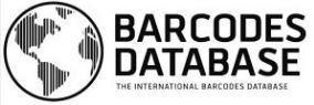 database of world barcodes